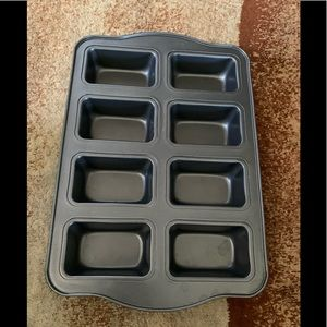 NEW 8 CUP SQUARE BROWNIE PAN NONSTICK BAKEWARE